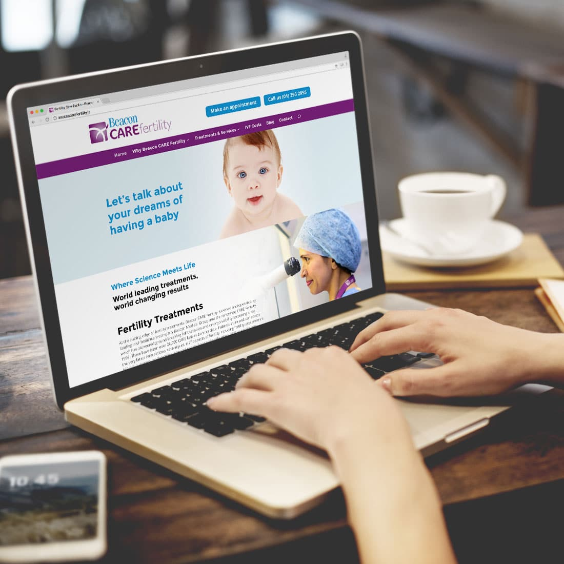 Beacon CARE Fertility Website